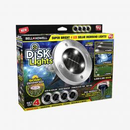 Disk Lights 4 pzs