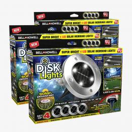 Disk Lights 12 Pzs