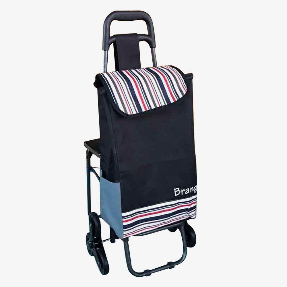Carrito de mandado plegable con asiento for Mesa plegable con asientos