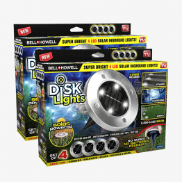 Disk Lights 8 Pzs